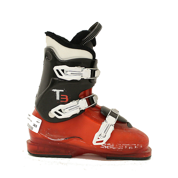 Used 2016 Salomon T3 Kids Youth Size Ski Boots SALE, , 600