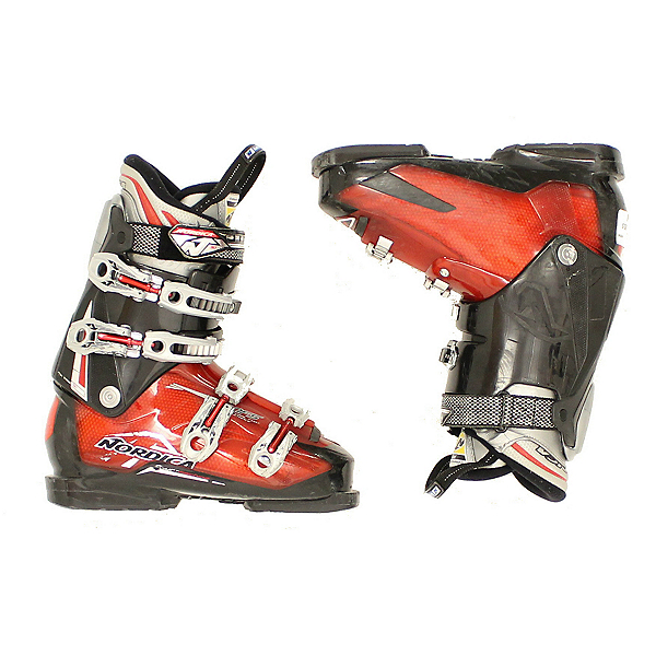 Used Mens Nordica Sport Machine Ski Boots Red Black, , 600