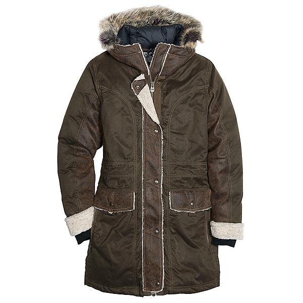 KUHL Arktik w/Faux Fur Parka Womens Jacket, Olive, 600