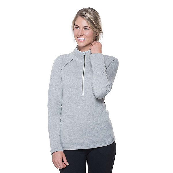KUHL Zuri 1/2 Zip Womens Sweater, Ash, 600