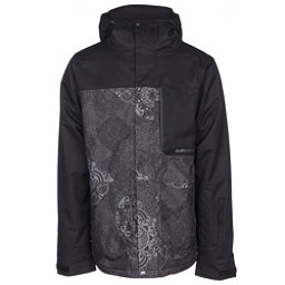 Armada Mantle Mens Insulated Ski Jacket, Black Mandela, 256
