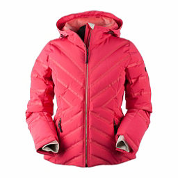 Obermeyer Belle Down Womens Insulated Ski Jacket, Island Sunset, 256