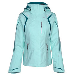 Obermeyer Juno System Womens Insulated Ski Jacket, Sea Glass, 256