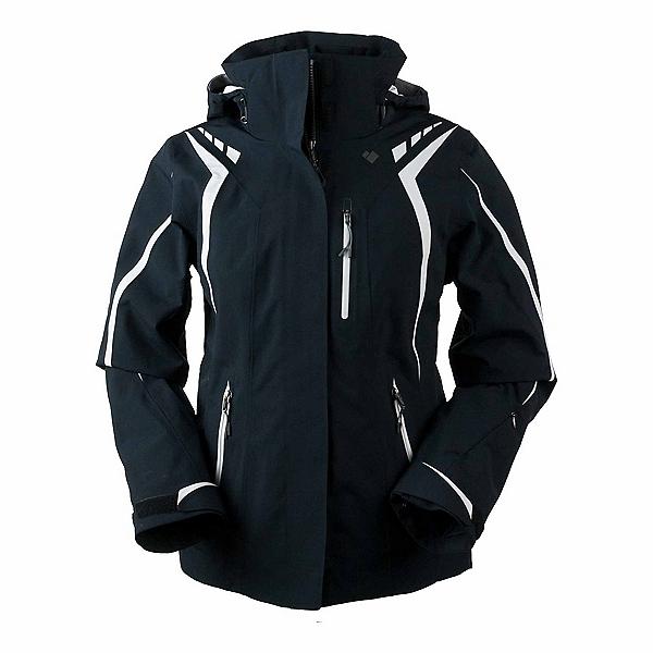 Obermeyer Juno System Womens Insulated Ski Jacket, Black, 600