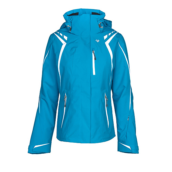 Obermeyer Juno System Womens Insulated Ski Jacket, Polar Blue, 600