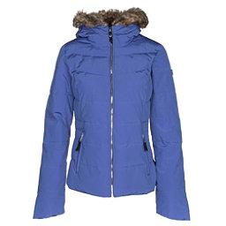 Obermeyer Bombshell w/Faux Fur Womens Insulated Ski Jacket, Alexandrite, 256