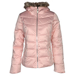 Obermeyer Bombshell w/Faux Fur Womens Insulated Ski Jacket, Pink In Paris, 256