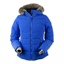 Obermeyer Bombshell Petite w/Faux Fur Womens Insulated Ski Jacket, Alexandrite, 256