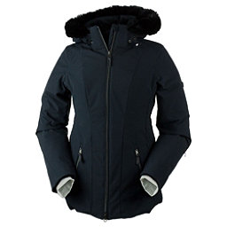 Obermeyer Siren Petite w/Faux Fur Womens Insulated Ski Jacket, Black, 256