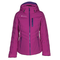 Obermeyer Cosima Down Womens Insulated Ski Jacket, Violet Vibe, 256