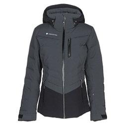 Obermeyer Cosima Down Womens Insulated Ski Jacket, Ebony, 256