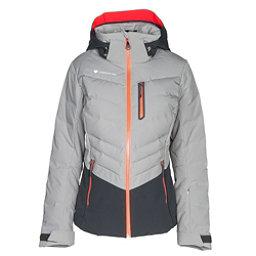 Obermeyer Cosima Down Womens Insulated Ski Jacket, Overcast, 256