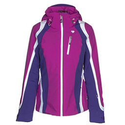 Obermeyer Jette Womens Insulated Ski Jacket, Violet Vibe, 256