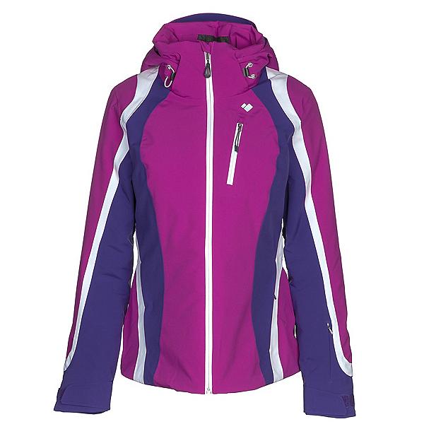 Obermeyer Jette Womens Insulated Ski Jacket, Violet Vibe, 600