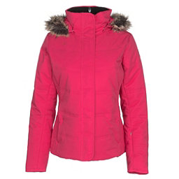 Obermeyer Tuscany w/Faux Fur Womens Insulated Ski Jacket, Alpine Rose, 256