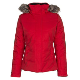 Obermeyer Tuscany w/Faux Fur Womens Insulated Ski Jacket, Crimson, 256