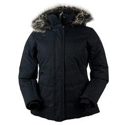 Obermeyer Tuscany w/Faux Fur Womens Insulated Ski Jacket, Black, 256