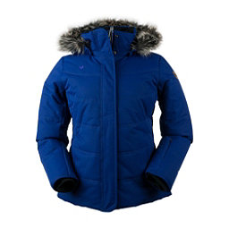Obermeyer Tuscany Petite w/Faux Fur Womens Insulated Ski Jacket, Dusk, 256