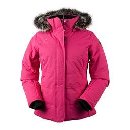Obermeyer Tuscany Petite w/Faux Fur Womens Insulated Ski Jacket, Alpine Rose, 256