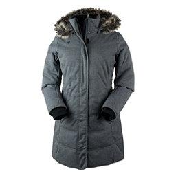 Obermeyer Tuscany Parka w/Faux Fur Womens Jacket, Charcoal, 256