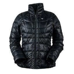 Obermeyer Soleil Reversible Down Insulator Womens Jacket, Black, 256