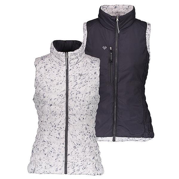 Obermeyer Soleil Reversible Down Womens Vest, Feline Frost, 600