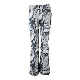 Obermeyer Printed Bond - Short Womens Ski Pants, Mountain Mirage, 256