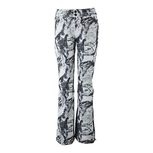Obermeyer Printed Bond - Short Womens Ski Pants, Mountain Mirage, 600