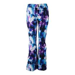 Obermeyer Printed Bond - Short Womens Ski Pants, Apres Effect, 256