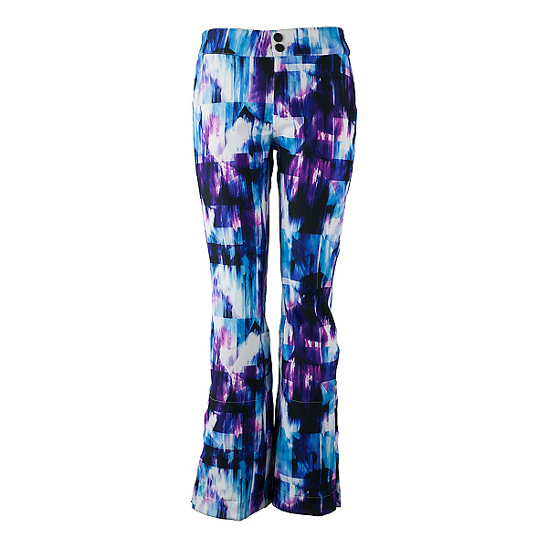 Obermeyer Printed Bond - Long Womens Ski Pants, Apres Effect, 600