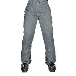 Obermeyer Malta Womens Ski Pants, Charcoal, 256