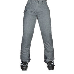 Obermeyer Malta Short Womens Ski Pants, Charcoal, 256
