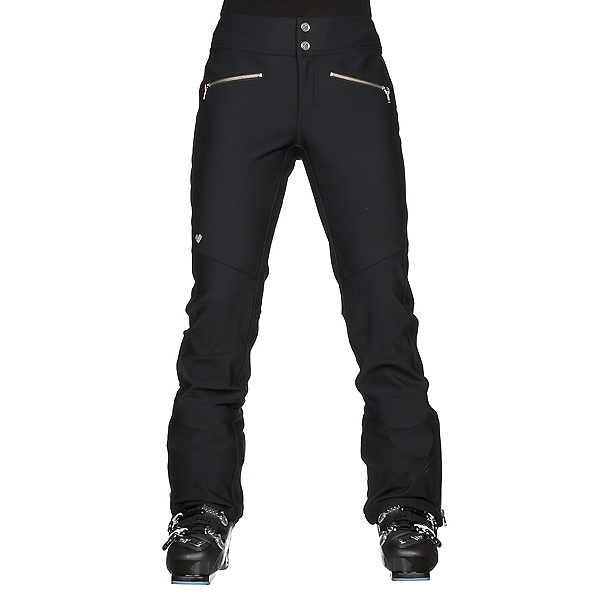 Obermeyer Cilo Softshell Womens Ski Pants, Black, 600