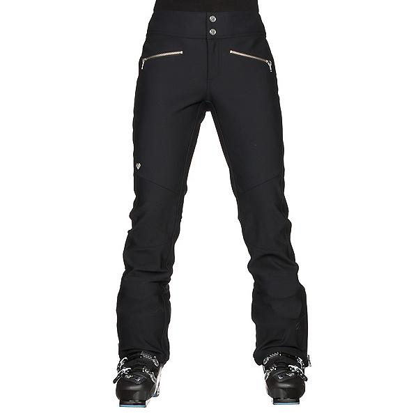 Obermeyer Clio Softshell Womens Ski Pants, Black, 600
