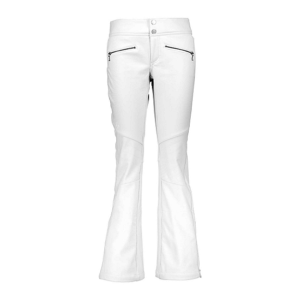 Obermeyer Clio Softshell Womens Ski Pants, White, 600