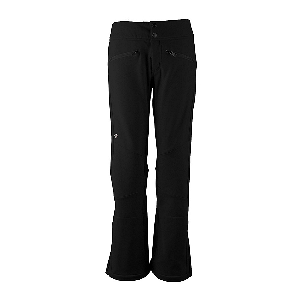 Obermeyer Clio Softshell - Short Womens Ski Pants, Black, 600