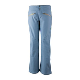 Obermeyer Clio Softshell - Short Womens Ski Pants, Washed Indigo, 256