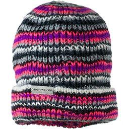 Obermeyer Pepper Knit Womens Hat, 80s Fire, 256
