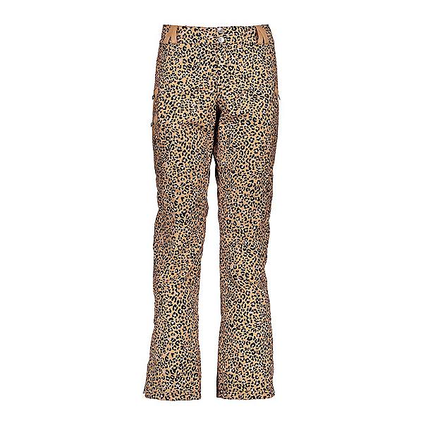 Obermeyer Harlow Womens Ski Pants, Safari Leopard Print, 600