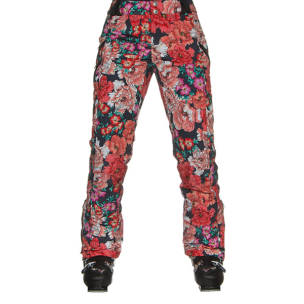 Obermeyer Harlow Womens Ski Pants, Pinks In Posy Print, 600