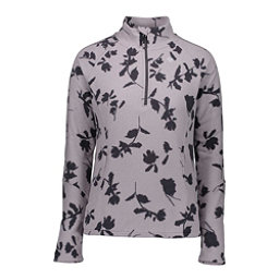 Obermeyer Sienna Fleece Womens Mid Layer, Overcast Shadow Floral Print, 256