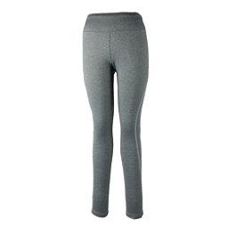 Obermeyer Ultrastretch Tight Womens Long Underwear Pants, Heather Grey, 256