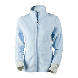 Obermeyer Flora Fleece Womens Jacket, Icescape Blue, 256