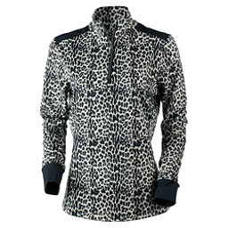 Obermeyer Nari 1/4 Zip Womens Mid Layer, Leopard, 256