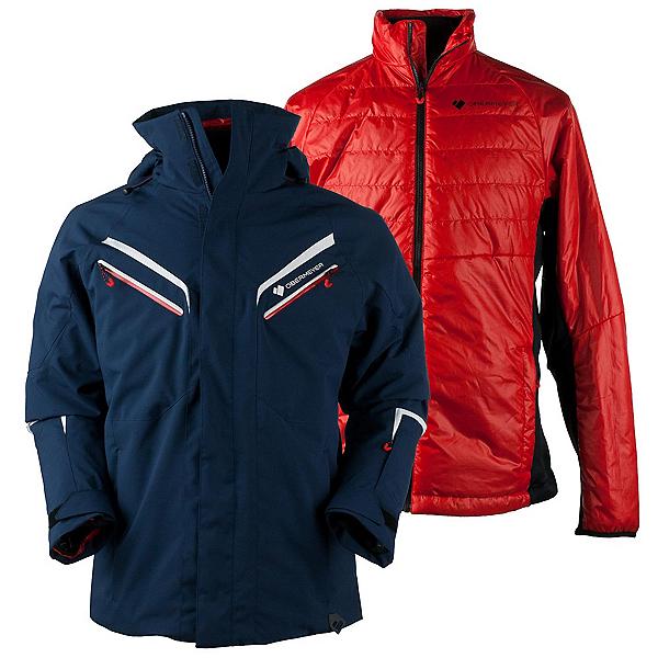 Obermeyer Trilogy Prime Mens Insulated Ski Jacket, Storm Cloud, 600
