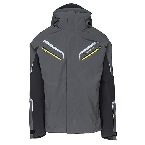 Obermeyer Trilogy Prime Mens Insulated Ski Jacket, Ebony, 600