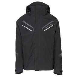 Obermeyer Trilogy Prime Mens Insulated Ski Jacket, Black, 256
