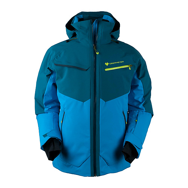 Obermeyer Z-Axis Mens Insulated Ski Jacket, Cove, 600