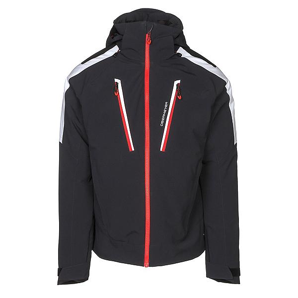 Obermeyer Foundation Mens Insulated Ski Jacket, White, 600