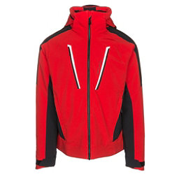 Obermeyer Foundation Mens Insulated Ski Jacket, Red, 256